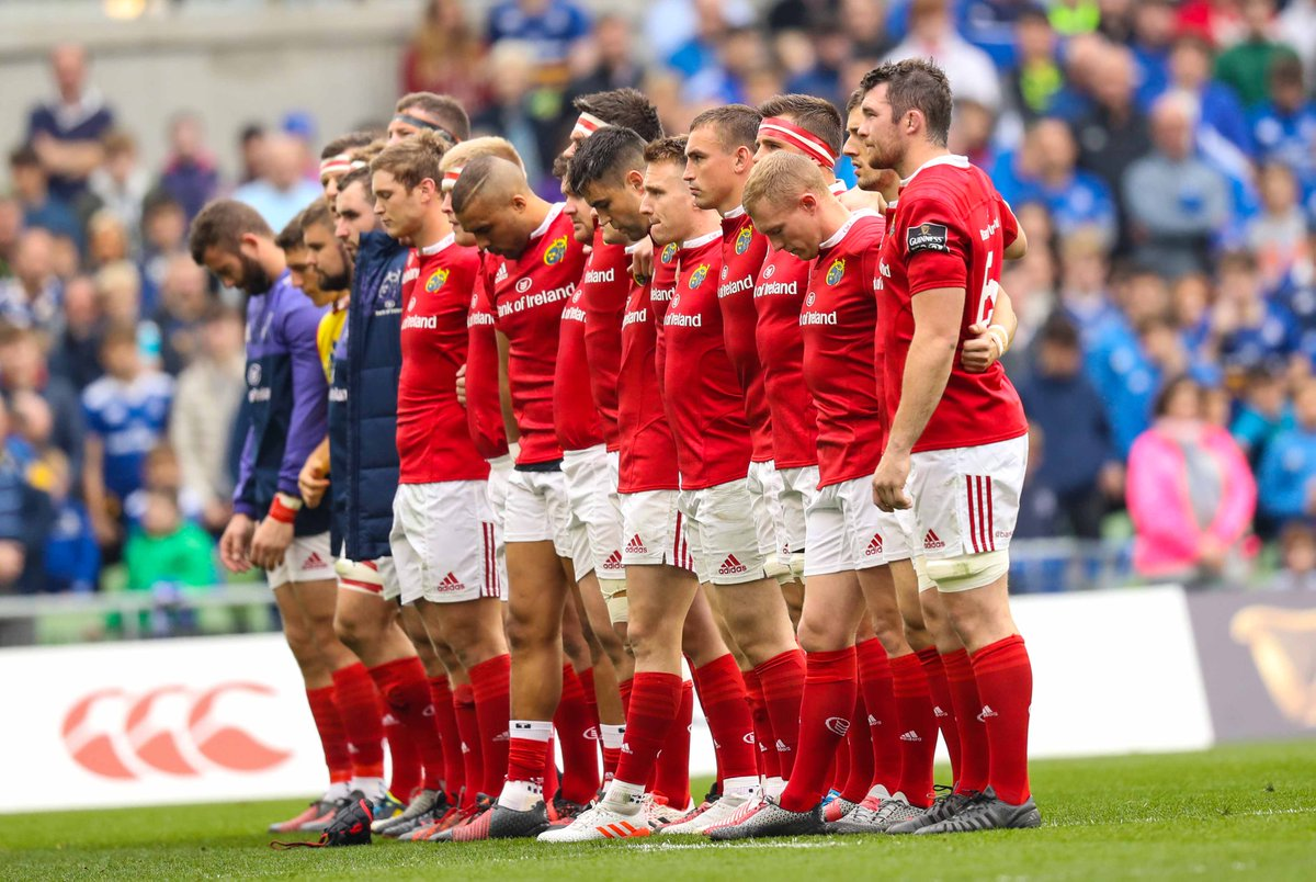 Stand Up & Fight with Munster's finest tonight. Wishing @MunsterRugby the best of luck #MunsterRising #MUNvOSP https://t.co/qjB8DTSZRg