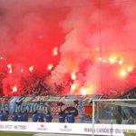 Spiel in Magdeburg mehrfach unterbrochen|Pyro-Randale! Hier brennt<br />der Hansa-Block
