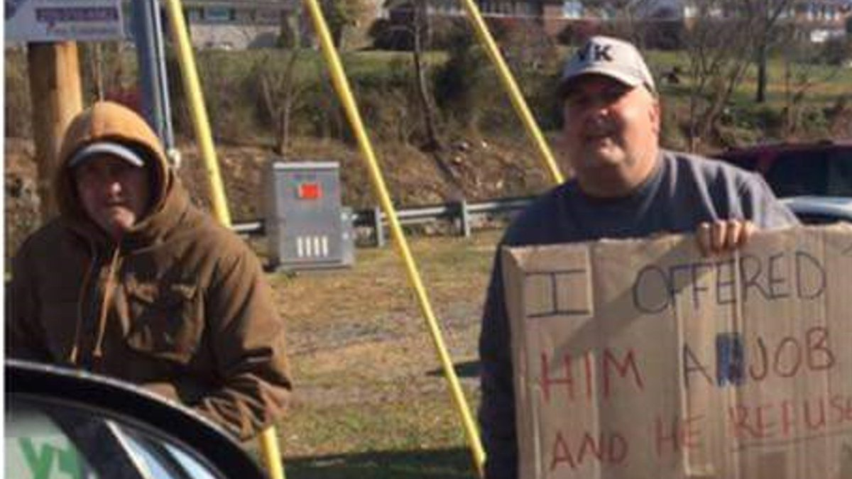 social media post highlights panhandler turning down job offer social media post highlights panhandler turning down job offer t