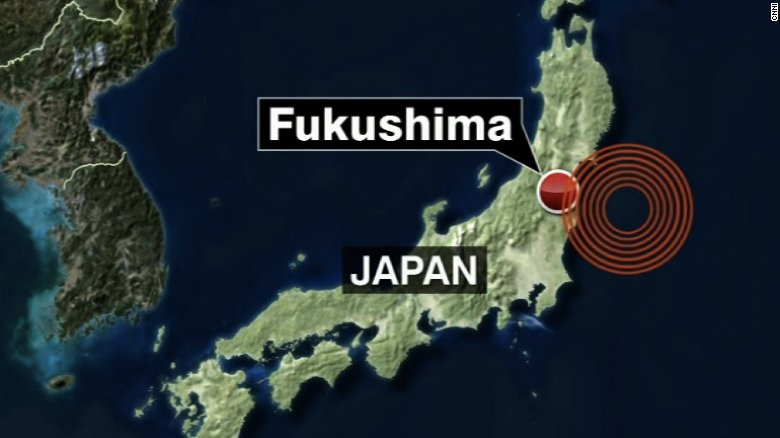 The tremors from a 6.9-magnitude earthquake that struck off Japan could be felt as far Tokyo