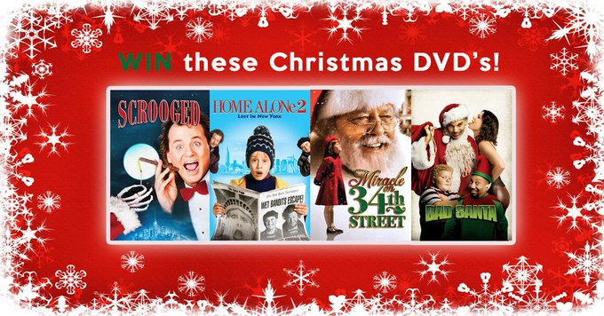 Win Xmas DVD's, RT+F USA &  UK only Full terms here  competition freebies