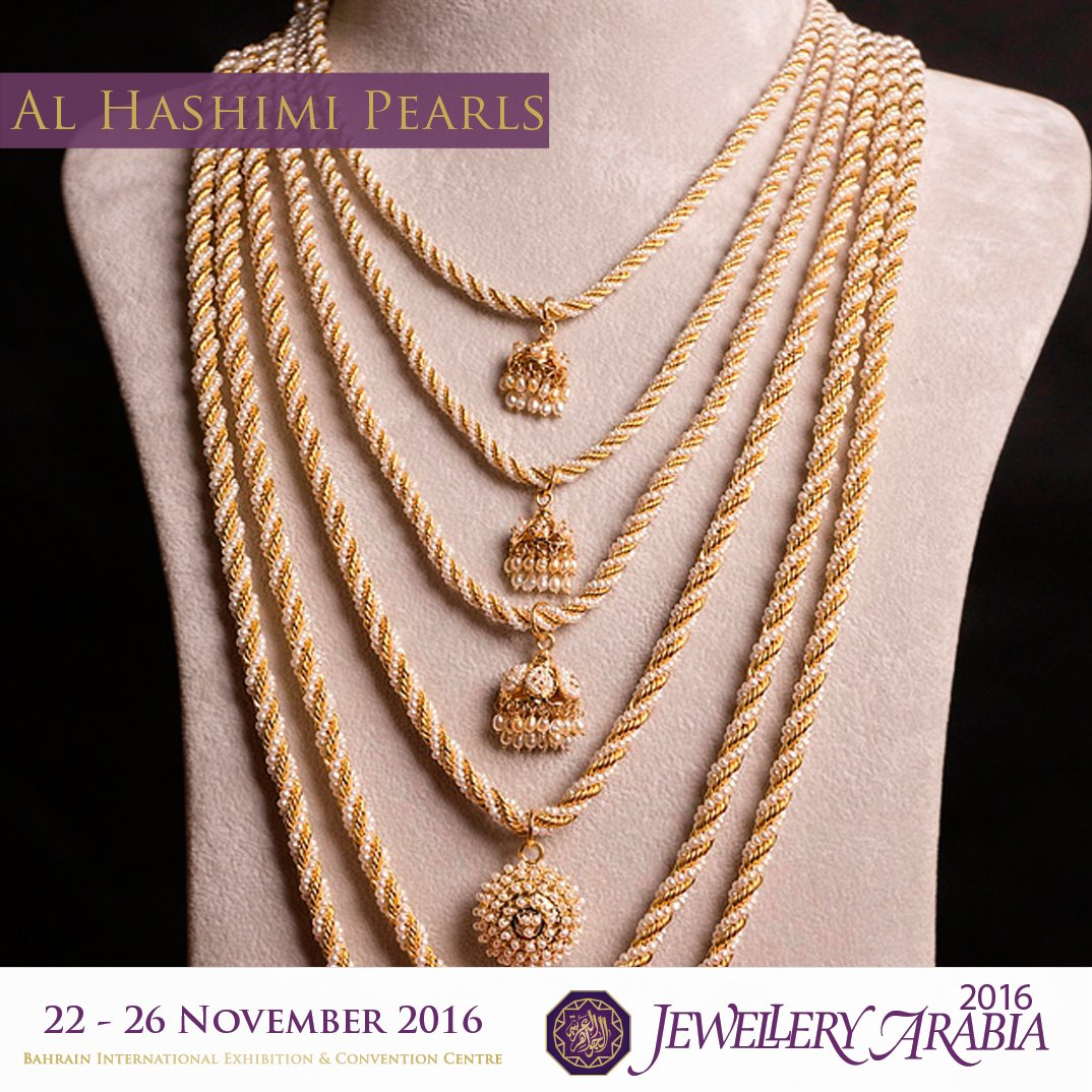 test Twitter Media - View Al Hashimi Pearls' new and exclusive collection only at Jewellery Arabia from the 22nd - 26th November. https://t.co/QGL3gzwB6Q