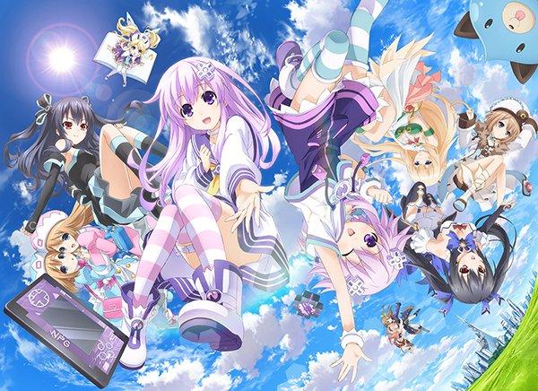 \プレスリリース更新!/そしてBOXへ… TVアニメ「超次元ゲイム ネプテューヌ」BD-BOX、1年間限定生産でリリース