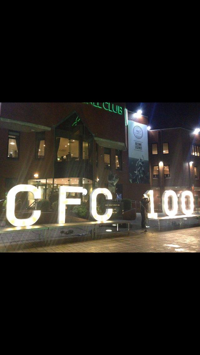 Celtic Park lit up to celebrate the club's landmark success https://t.co/TFKfSS1E9k