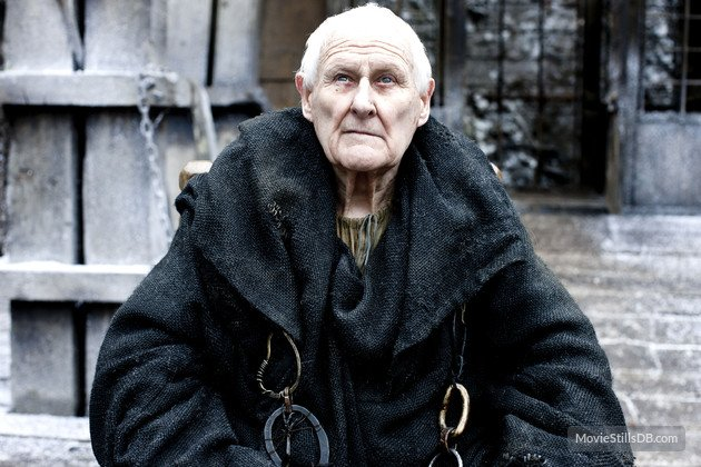 Actor Peter Vaughan, known for roles in Game of Thrones and Porridge has died today, aged 93