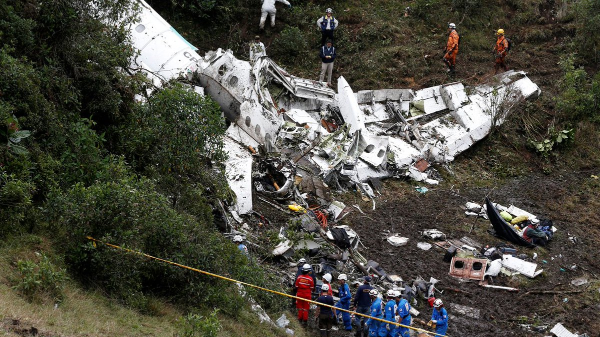 6 FOX Sports Brazil employees among those killed in plane crash in Colombia