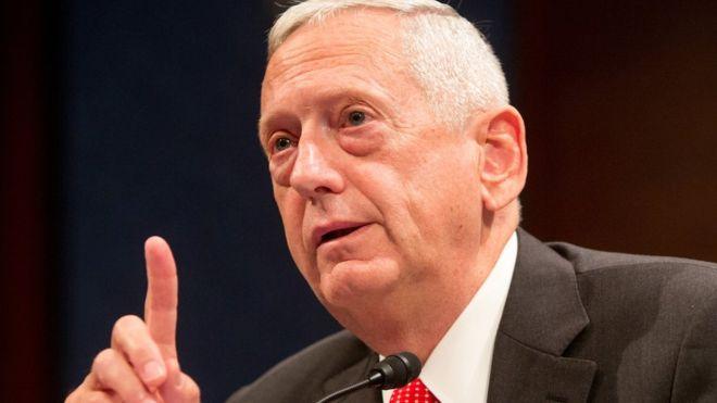 FBC - Trump names 'Mad Dog' defence secretary