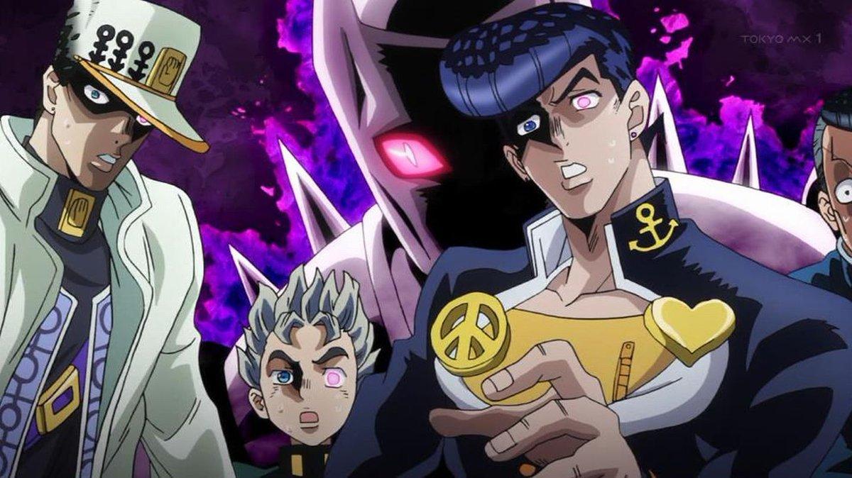 第四部完ッ!!!#tokyomx#jojo #jojo_anime #ジョジョ #ジョジョの奇妙な冒険#ダイヤモンドは砕