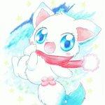 【イラスト】12月3日はラリマーちゃんの誕生日!一番大好きなジュエルペットなのでちゃんとお祝いしないと!