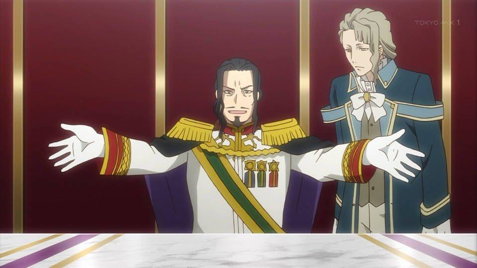 終末のイゼッタ・声優が山寺宏一・大ゲール帝国の皇帝・世界へ向け侵略戦争を行っている宇宙戦艦ヤマト2199・声優が山寺宏一