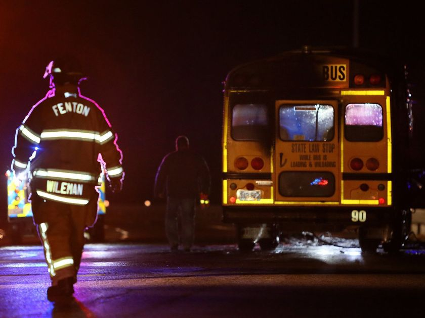 Rockwood superintendent calls for investigation of school bus fire