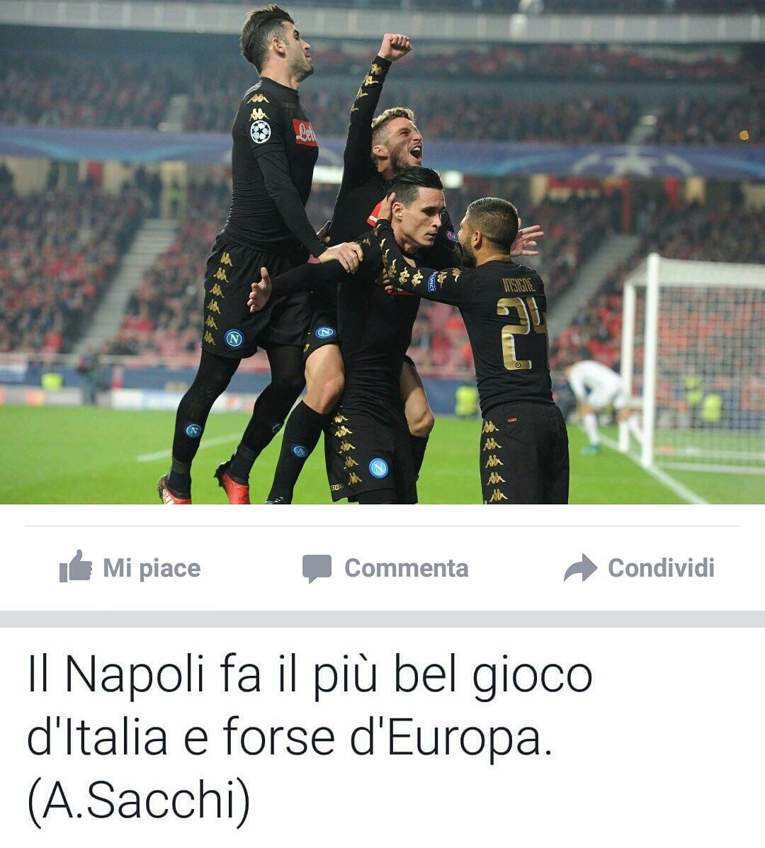 #BenficaNapoli