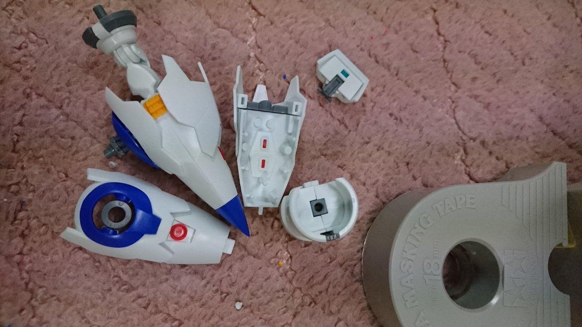 コトブキヤから出ているキャプテンアース/アースエンジンインパクターに手をつける。MGみたいなものかなふふふーん、と思って