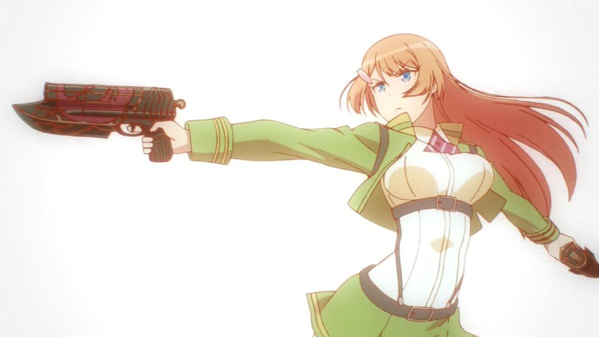 2016年12月7日の女の子は対魔導学園35試験小隊より『鳳桜花』。「限りなき願いを以て魔女に与える鉄槌を」#アニメ好き