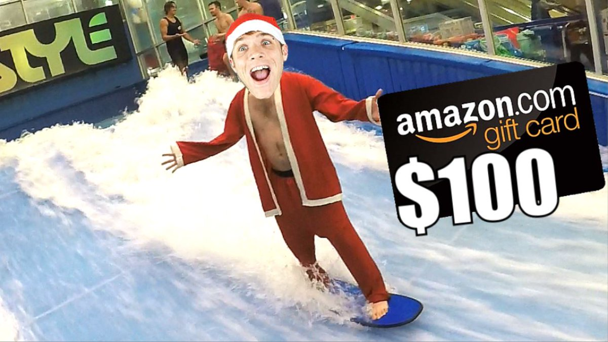 New Video! https://t.co/47JYuzFQaE  $100 Amazon eGift Card Giveaway - EPIC Holiday Costume Surfing Party | TC #165 https://t.co/08QQwds4oW