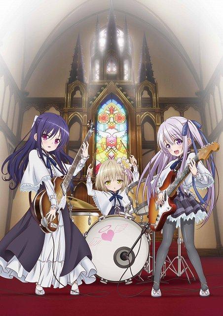 TVアニメ『天使の3P!』2017年夏に放送決定。『ロウきゅーぶ!』コンビが贈るロリ&ポップ・シンフォニー  #tens