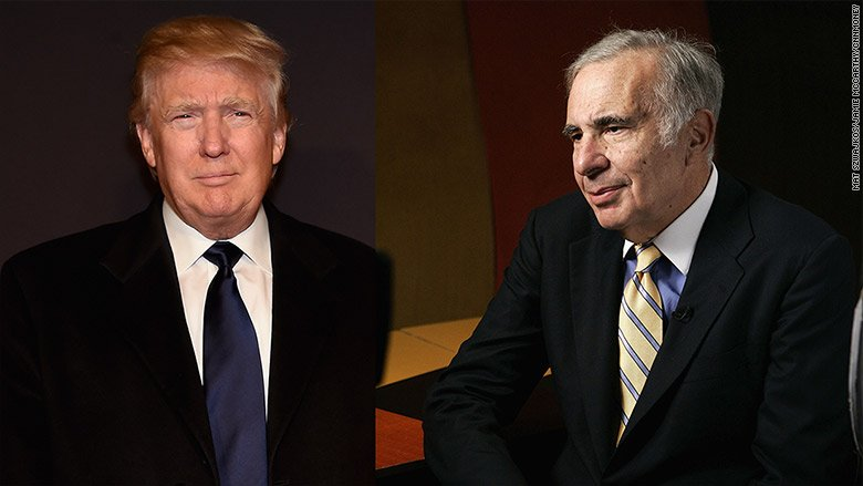 "Carl Icahn says the Trump stock market rally has ""gone too far"""