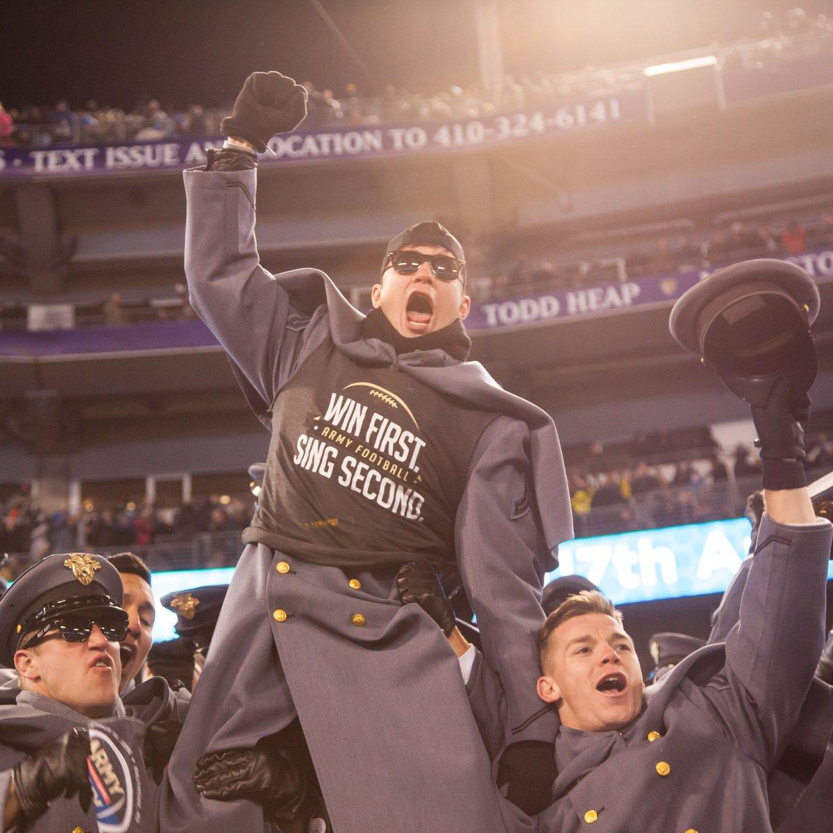 Congratulations, @ArmyWP_Football !! We did it!!! #GoArmy #BeatNavy #SingSecond https://t.co/nHu1uJkjAz