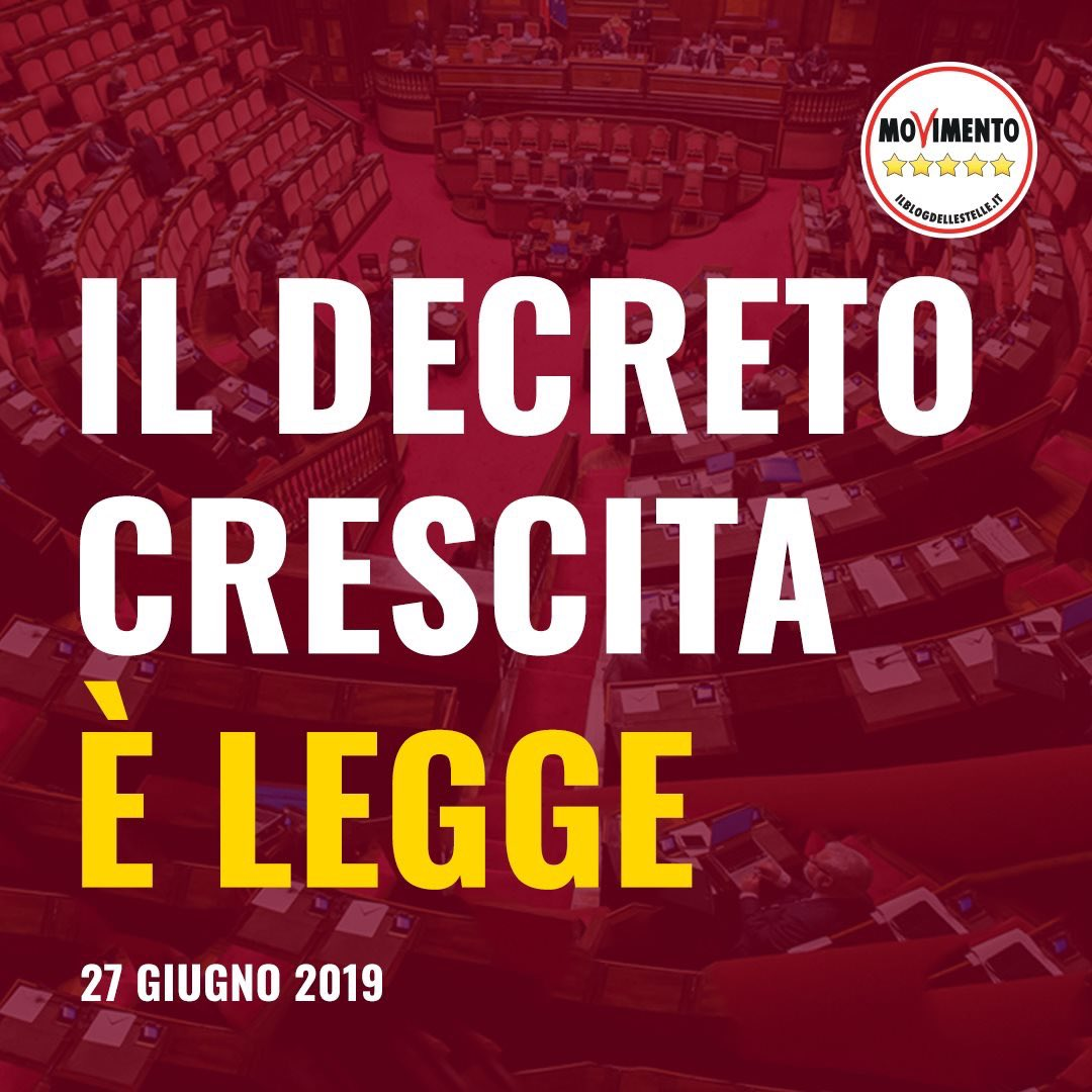 #decretocrescita