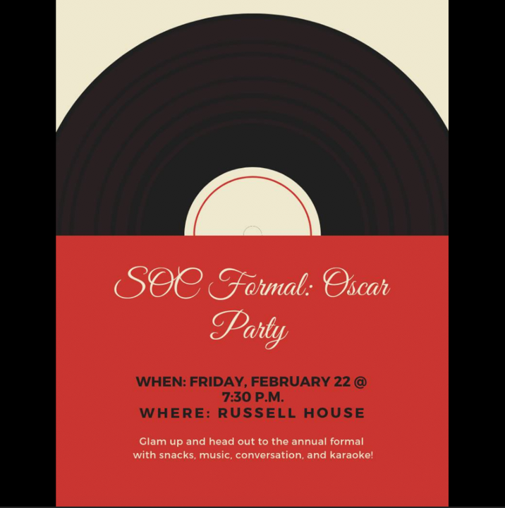test Twitter Media - Get ready to #glamup and head out to the annual #SOC formal hosted at Russell House tonight @ 7:30 pm! https://t.co/LaCkt8p5AC