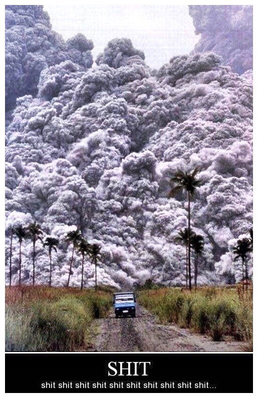 For those that don't know the definition of a pyroclastic flow... https://t.co/cVKmAunpDG
