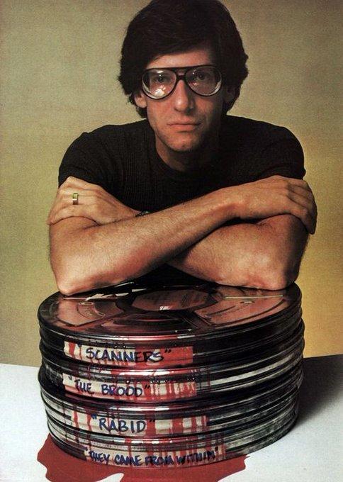 Happy birthday to the great David Cronenberg!