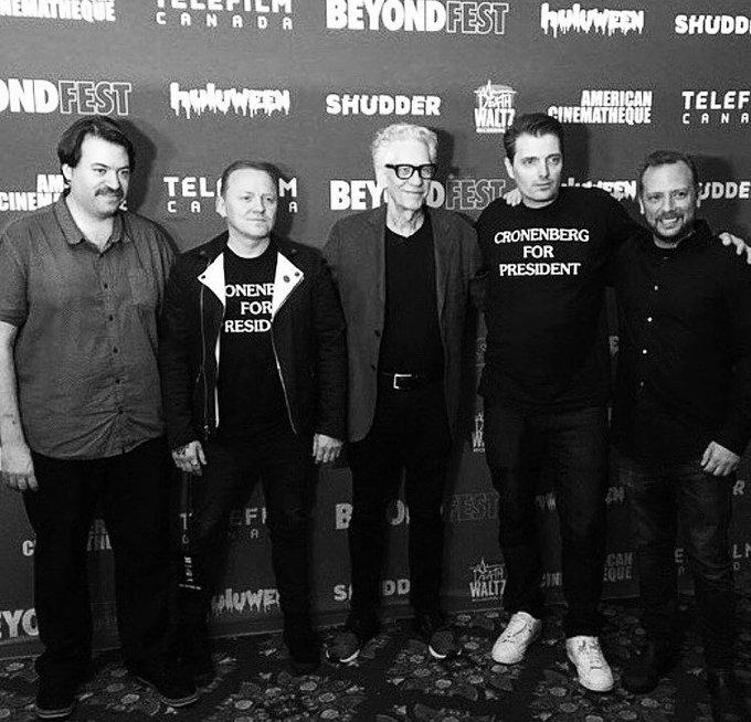 Happy birthday David Cronenberg