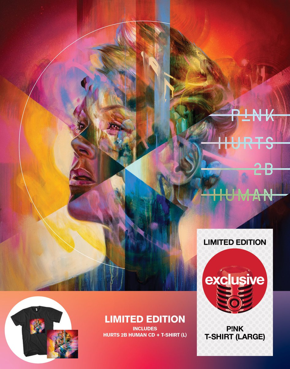 "Pre-order the @target limited edition ""Hurts 2B Human"" T-shirt + CD bundle! ❤️ https://t.co/NusOGYqTAK https://t.co/BgmFBT7eQB"