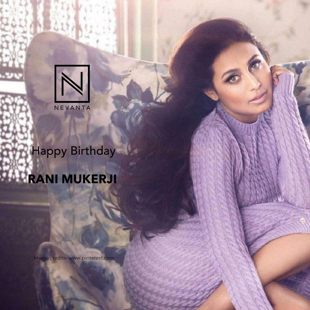 Here\s wishing Rani Mukerji a very Happy and fun-filled Birthday!