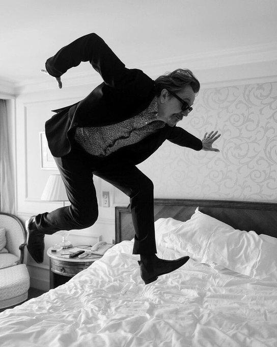 Happy 61th birthday Gary Oldman Photo by Greg Williams