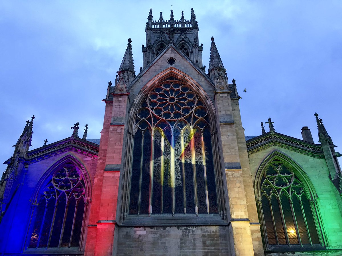test Twitter Media - Doncaster Minster is all lit up tonight, for more on this story watch @itvcalendar https://t.co/I9S4Nt1MkQ