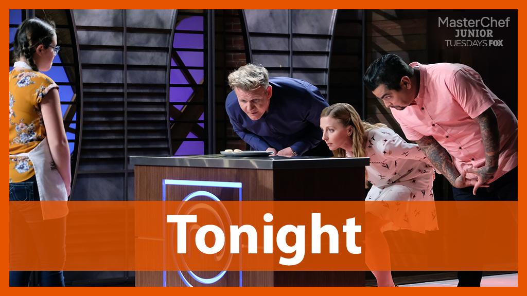 RT @MasterChefJrFOX: Will these tiny cooks impress the judges? Find out when #MasterChefJunior continues TONIGHT at 8/7c on @FOXTV! 🍽 https://t.co/Qt7NKt0wYJ