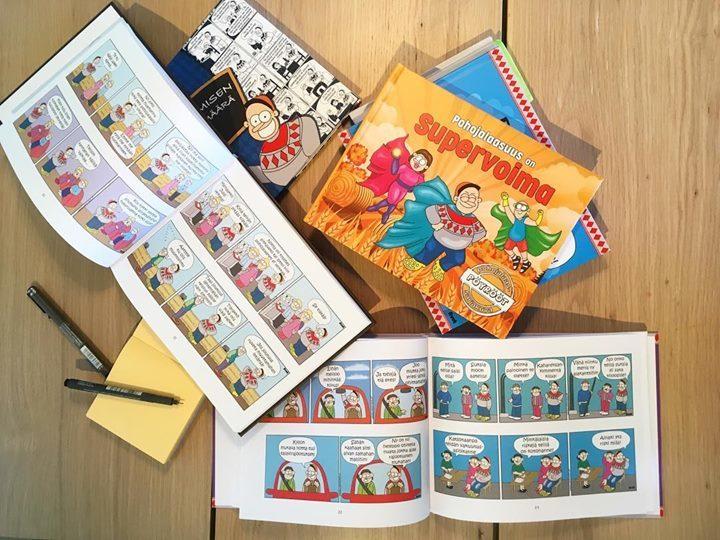 test Twitter Media - Mitä te haluaisitte kertoa japanilaisille pohjalaisuudesta? Täällä kootaan ensimmäistä japaninkielistä Pöyrööt-kirjaa!🇯🇵♦️On muuten jännää!😍 #pöyrööt #sarjakuva #maailmankartalle #hullunrohkea #projekti  #comic #japani #japan #pohjanmaa #eteläpohjanmaa #tähärellistä https://t.co/DOlevo2Ey6