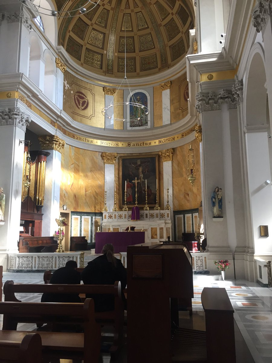 test Twitter Media - I'm here today at the beautiful St Patrick's Church Soho for a Day of Recollection with brother priests. We've just visited St. Giles to say the Rosary where six of the Jesuit martyrs (plus for a while St. Oliver Plunkett) were buried. https://t.co/OsB4vmTYrL