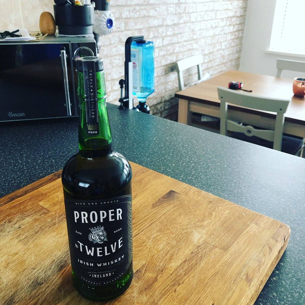 RT @ChrisBrownkop: Finally got my hands on a bottle. @ProperWhiskey @TheNotoriousMMA  #propertwelve https://t.co/O2S9e8TJR2