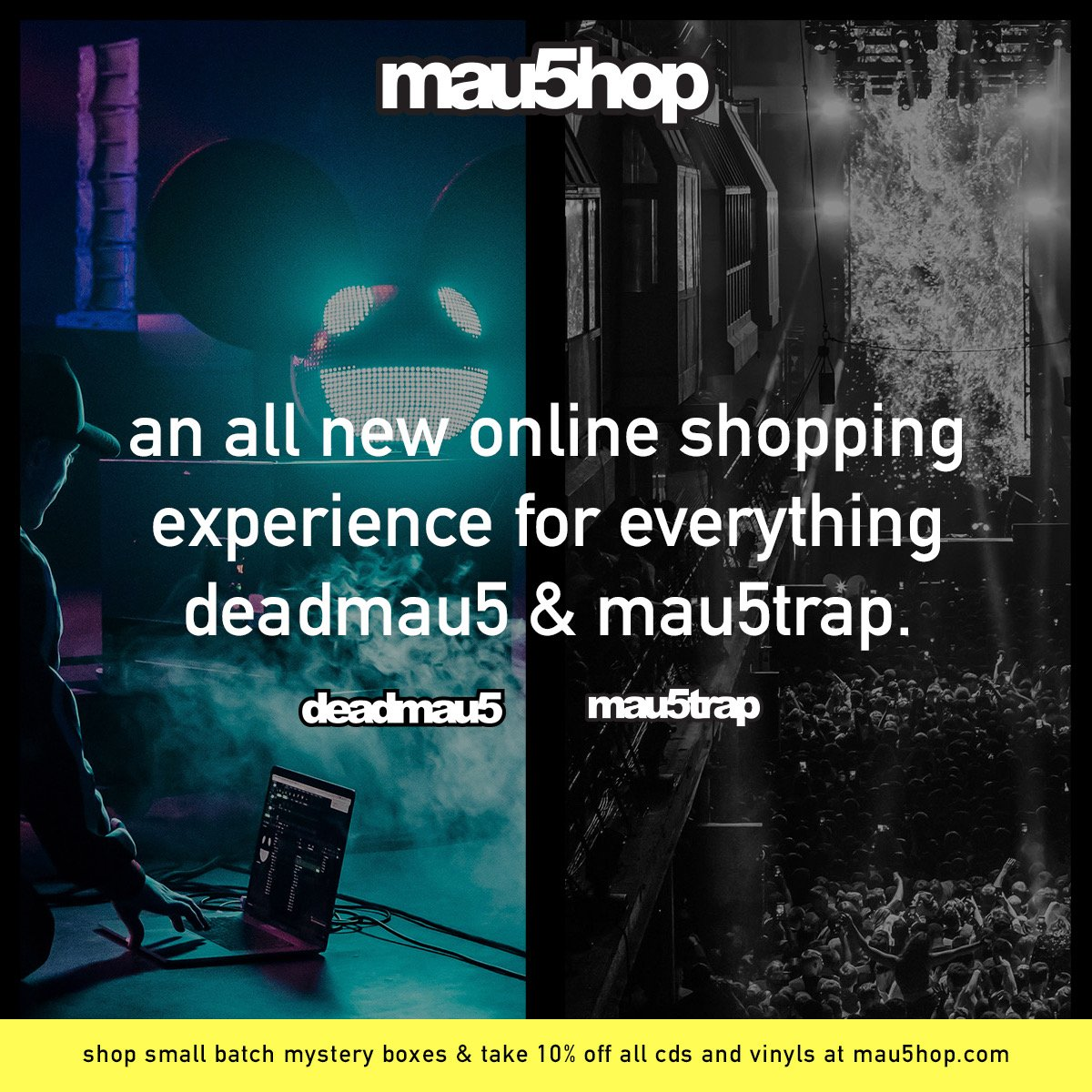 RT @mau5trap: now entering... the new mau5hop. stay tuned for moar merch coming ????  ???? https://t.co/AiFHdThyxp https://t.co/L9IRRqaulF