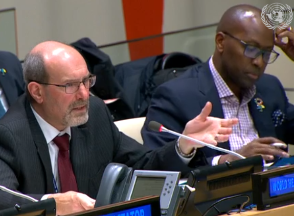 """test Twitter Media - VDO: Global Action Plan for Healthy Lives and Well-being """"is premised on the fact that we are not on track to meet the Global Goals related to health"""" Stewart Simonson, Assistant Director-General, @WHO Office @UN in NY https://t.co/Fqb4G660Of #GAP #globalhealth https://t.co/j05hmMEAUr"""