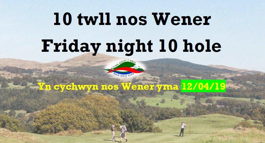 test Twitter Media - #10Hole #NosWener yn cychwyn 12/04 #Golf #Scramble ar nos Wener 19/04   Dewch i gefnogi yn aelodau hen a newydd ac o bob gallu! https://t.co/7oQXy1wwiB