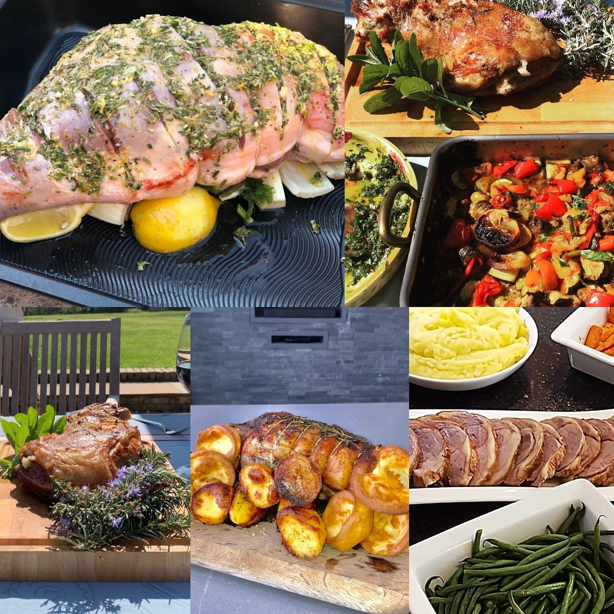 Aubrey's cooks were out in force this weekend - look at all these lovely lamb dishes! #bankholiday #aubreyinspires https://t.co/nxh36UZgOi