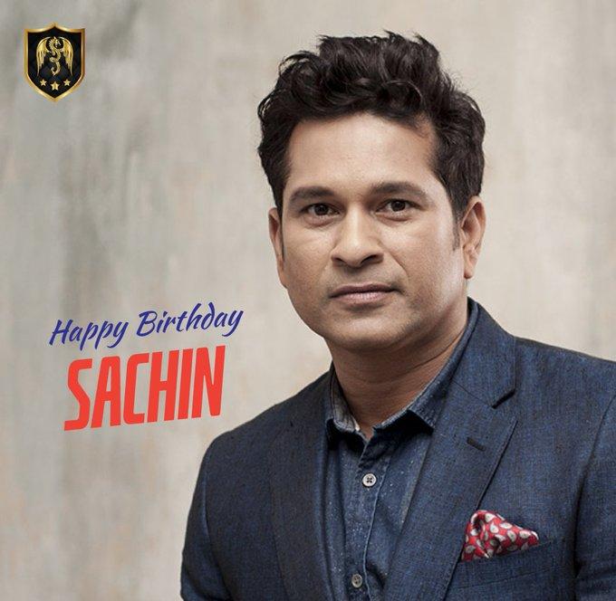 Team wishes the God of the Cricket a very Happy Birthday. Long live Sachin Tendulkar!