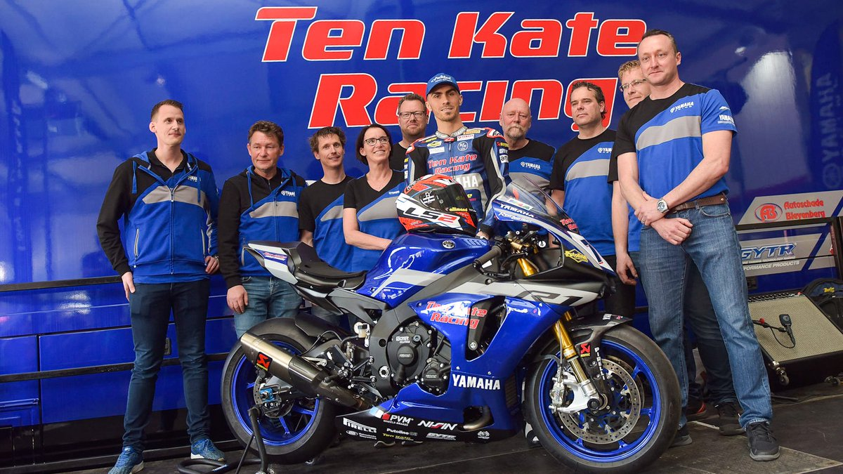 test Twitter Media - Ten Kate Racing and @lorisbaz unveil 2019 colours at the Pitstopdag✨  Dutch squad launched their 2019 livery in front of their fans in The Netherlands 🇳🇱  📃 | #WorldSBK https://t.co/7nvudxjy1N https://t.co/FeOR17pNZ9