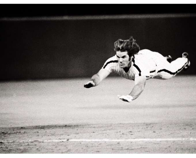 It s a bird. It s a plane. It s Pete Rose! ~ Happy birthday Charlie Hustle