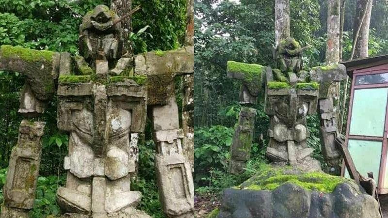 test ツイッターメディア - 【話題】どう見てもガンダムな石像がインドネシアで発見される 地元民は数百年前のものと証言? https://t.co/7yPegMwSEG  びっしりとコケが生えており、岩と融合しているかのような見た目となっています。 https://t.co/4eLe3fa4Ho