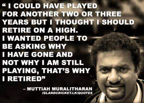 Wish you a Happy Birthday Muttiah Muralitharan.A legend on and off the field.