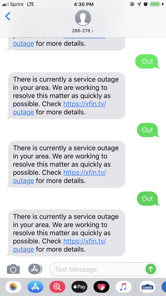 test Twitter Media - Now on a 6 hour 30 minutes Comcast Xfinity outage.   Not Happy.   #comcastoutage #Detroit https://t.co/CTfWzoro68