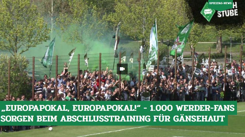 RT @DeichStube: No words needed. Reingucken und genießen! 🎬👉 https://t.co/OS0Kn5wALH  #Werder #FCBSVW #DeichsTube https://t.co/iU4OdVyzus
