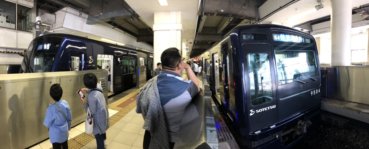 test ツイッターメディア - 相鉄横浜駅 9704Fと20101Fの並び https://t.co/BhVph7toss