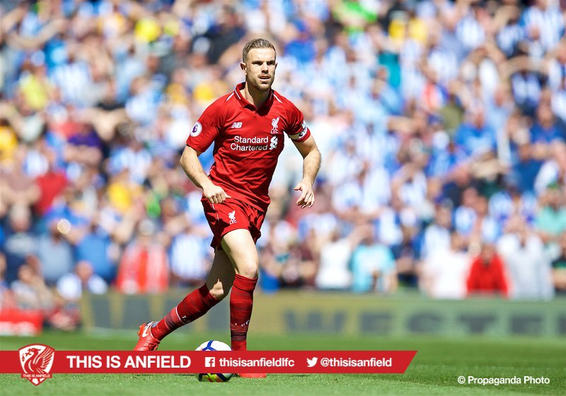 "Klopp is asked if Henderson is back in the No.6 role: ""Let's wait, there is different options still. One of them we decided to take today. He will play in the position he likes."" https://t.co/8Sas1DmiXd"