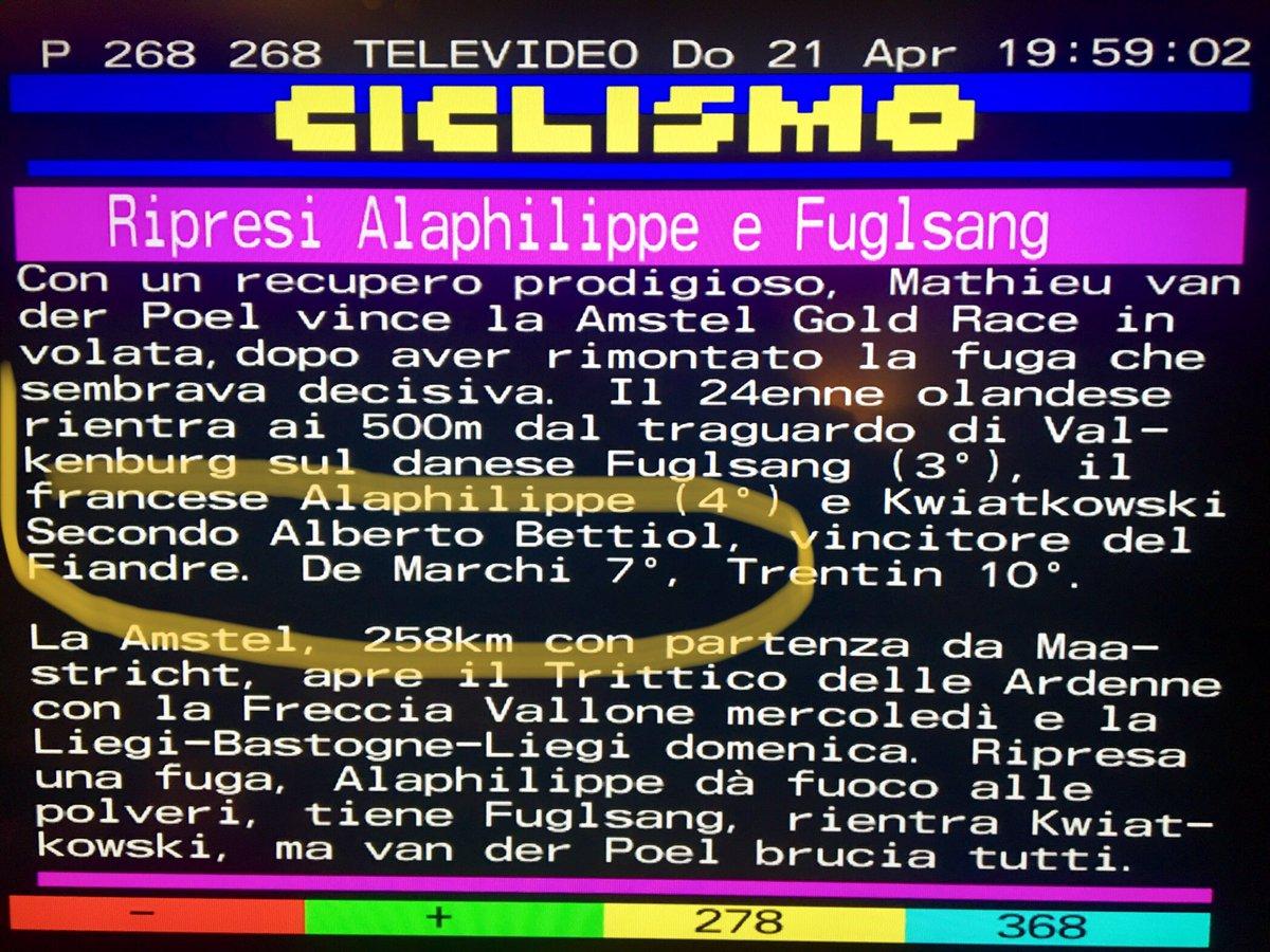 #AmstelGoldRace