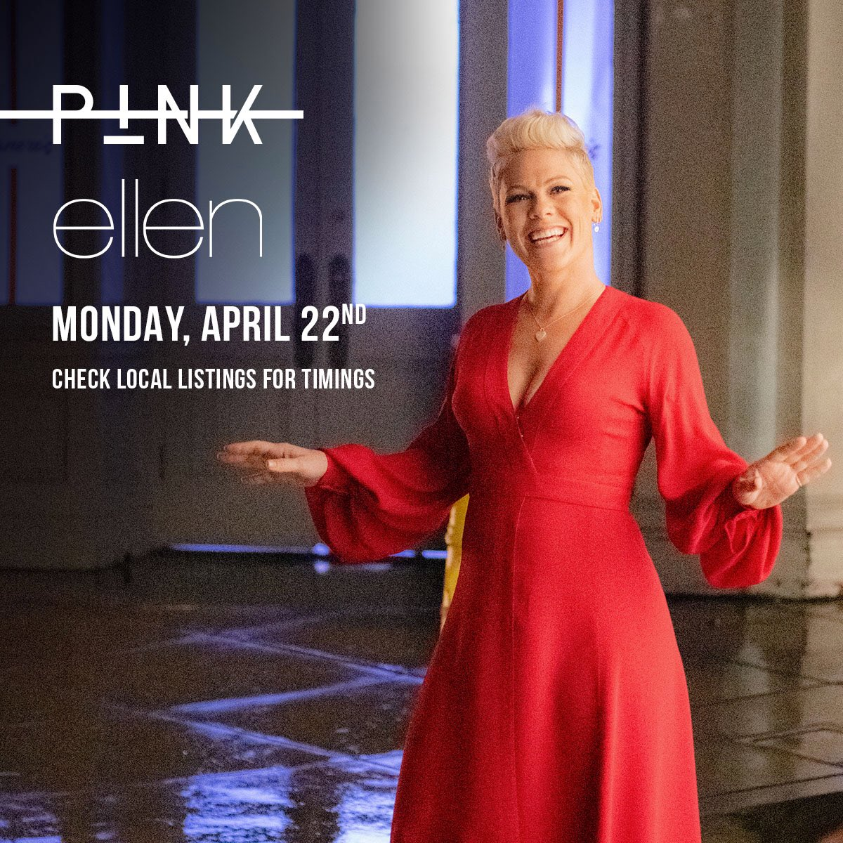 ????Catch me on @theellenshow tomorrow performing #WalkMeHome from my new album #Hurts2BHuman! https://t.co/dAV22Ecti7